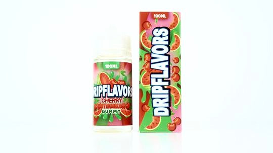 Cherry Watermelon Gummy by Dripflavors E Juice on E liquid Universe