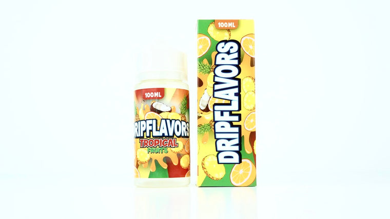 Tropical Fruits E-Liquid by Dripflavors EJuice on Eliquid Universe