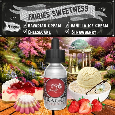 Fairie's Sweetness by Dragon Liquids Available on ELiquid Universe