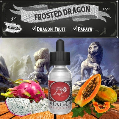 Frosted Dragon by Dragon Liquids Available on ELiquid Universe