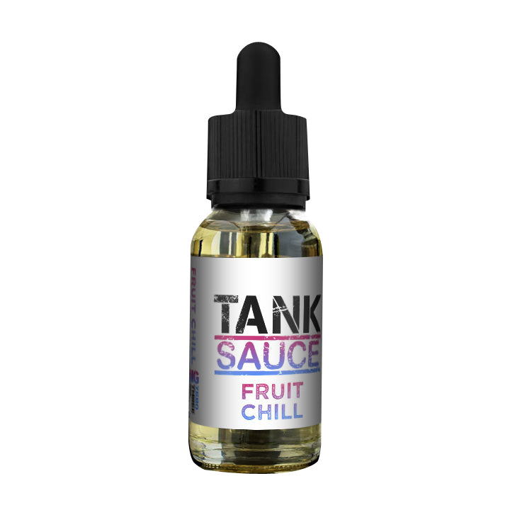 Fruit Chill EJuice by Tank Sauce ELiquid by Tank Sauce on E Liquid Universe. Premium E Juice Brands & Accessories at Low Prices