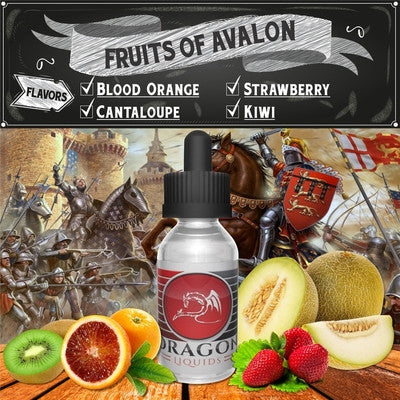 Fruits of Avalon by Dragon Liquids Available on ELiquid Universe