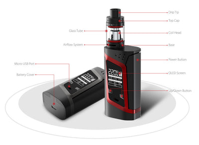 Smok Alien 220W TC Starter Kit by SmokTech Available on ELiquid Universe