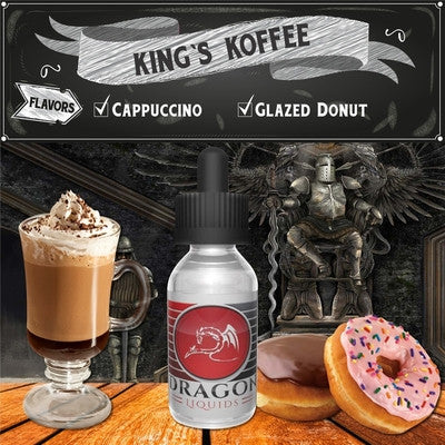 King's Koffee by Dragon Liquids Available on ELiquid Universe