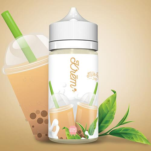 Krem Milk Tea - Skwezed E Liquid on ELiquid Universe