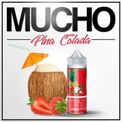 Mucho Pina Colada EJuice by The Neighborhood on E Liquid Universe. Premium E Juice Brands & Accessories at Low Prices