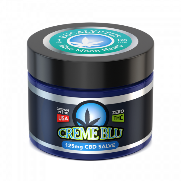 Blue Moon Hemp – CBD Salve Eucalyptus