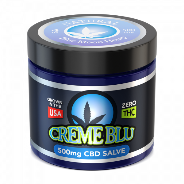 Blue Mon Hemp– CBD Salve Natural