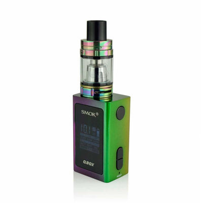 SMOK QBOX 50W TC AND TFV8 BABY FULL KIT by SmokTech Available on ELiquid Universe