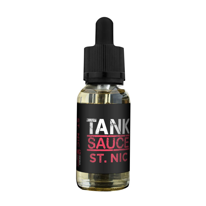 ST. Nic by Tank Sauce - Available on ELiquid Universe at a Great Price