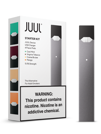 Juul Vapor Starter Kit by JUUL Available on ELiquid Universe