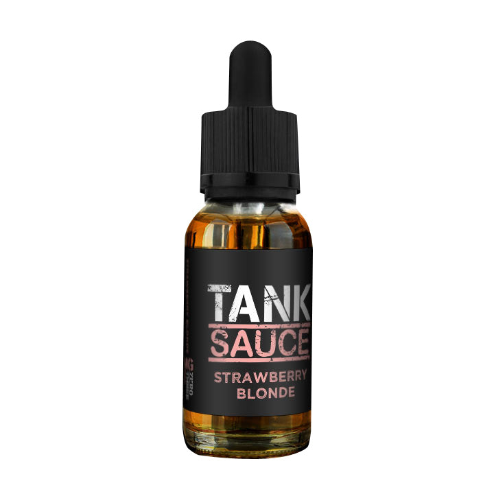 Strawberry Blonde EJuice by Tank Sauce ELiquids by Tank Sauce Available on ELiquid Universe