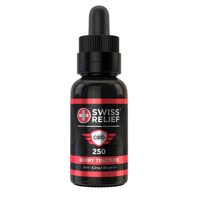 Swiss Relief CBD Tincture - Berry