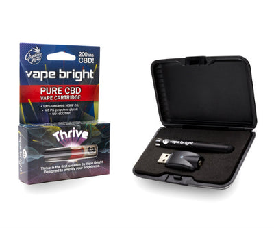 Thrive CBD Vape Starter Pack - 200MG by Vape Bright Available on ELiquid Universe