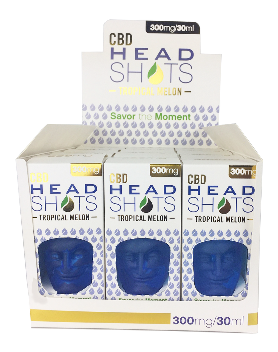 CBD Fusion Tropical Melon Headshots 300mg