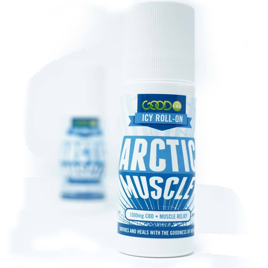 CBD Arctic Muscle Freeze Roll On By Good CBD 1000MG