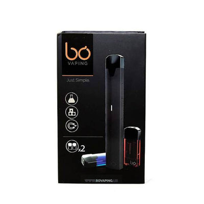 Bo Vaping Full Starter Kit with Two Pods by Bo Vaping on E Liquid Universe. Premium E Juice Brands & Accessories at Low Prices