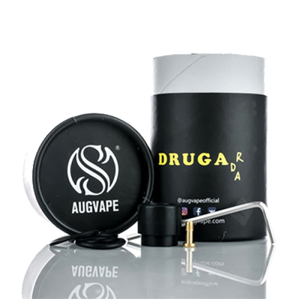 Augvape DRUGA RDA Clamp Snap System 24mm by Augvape on E Liquid Universe. Premium E Juice Brands & Accessories at Low Prices