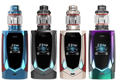 iJoy Avenger 270 234W Voice Control TC Kit With 4.7ML Avenger Tank by iJoy on E Liquid Universe. Premium E Juice Brands & Accessories at Low Prices