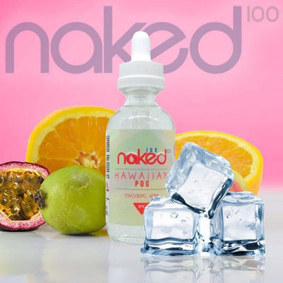 Hawaiian Pog Ice - Naked 100 Ice E Liquid by Naked 100 Available on ELiquid Universe