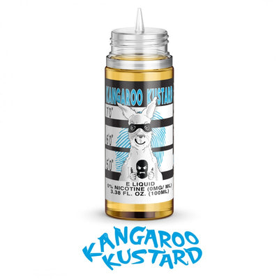 Kangaroo Kustard eLiquid by Cloud Thieves eJuice - 60mL & 100mL by Cloud Thieves Juice Co. on E Liquid Universe. Premium E Juice Brands & Accessories at Low Prices
