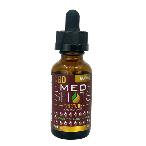 CBD Fusion Med Shots 600-2400mg (with Coconut Oil)