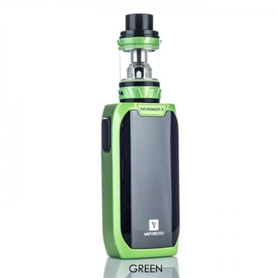 Green Vaporesso Revenger X 220W TC Vape Starter Kit on E Liquid Universe