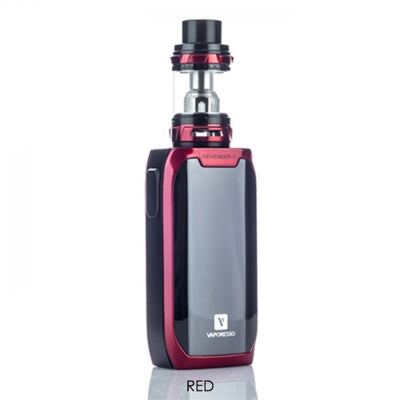 Red Vaporesso Revenger X 220W TC Vape Starter Kit on E Liquid Universe