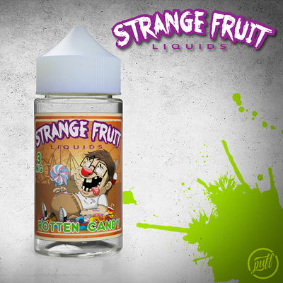 Strange Fruit EJuice | Rotten Candy Eliquid by Strange Fruit Available on ELiquid Universe