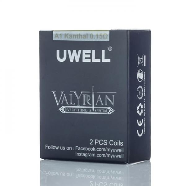 Uwell Valyrian Replacement Coils Available on ELiquid Universe