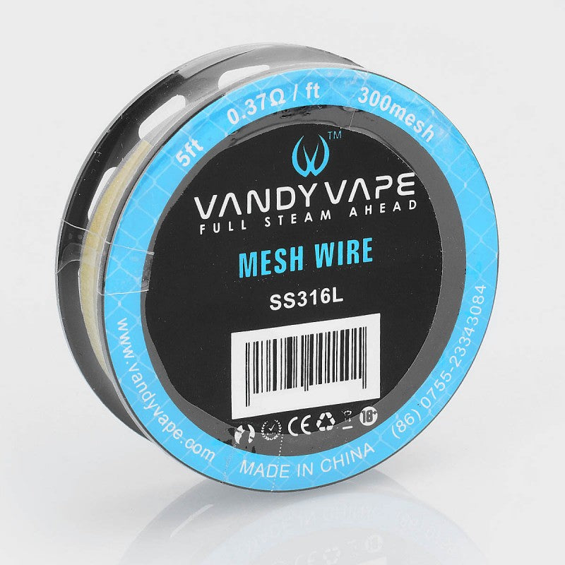 VANDY VAPE MESH WIRE SPOOL - 5 FEET by Vandy Vape Available on ELiquid Universe