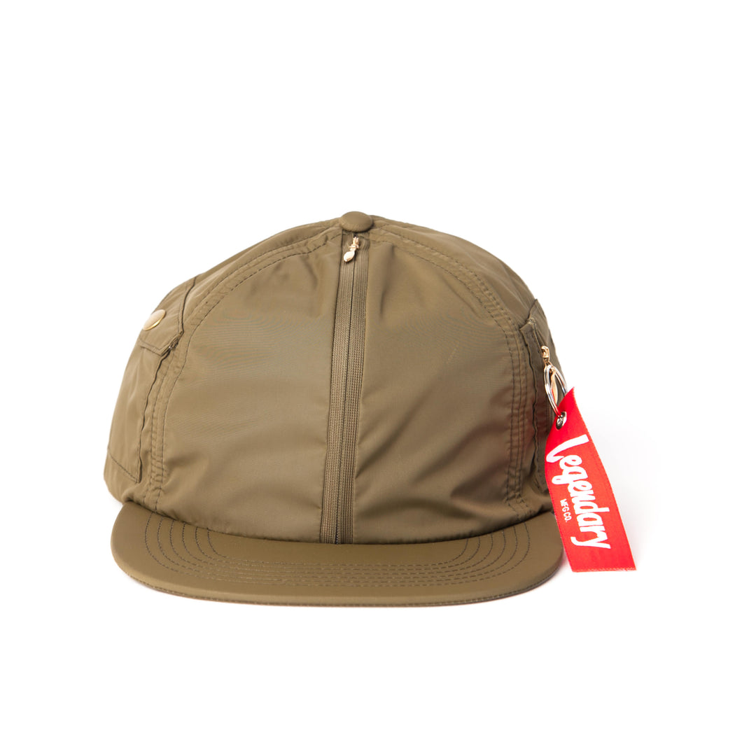Flight Hat - Army Green