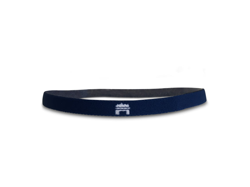 thin black elastic football headband