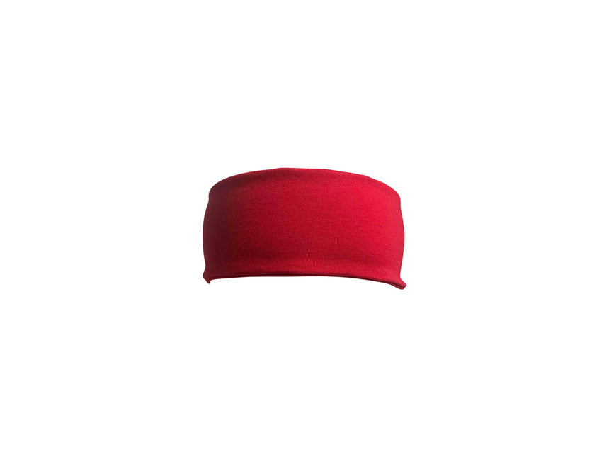Red  Ninja Tie Up Headband