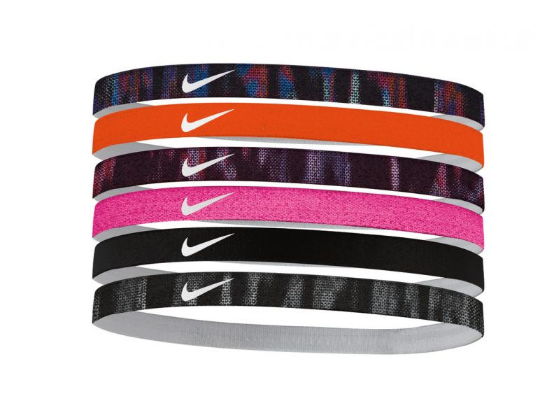 Nike Women's Swoosh Sport Headbands – 6 Pack