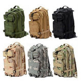 Military Tactical Canvas Backpack