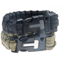 4 in 1 Survival Bracelet