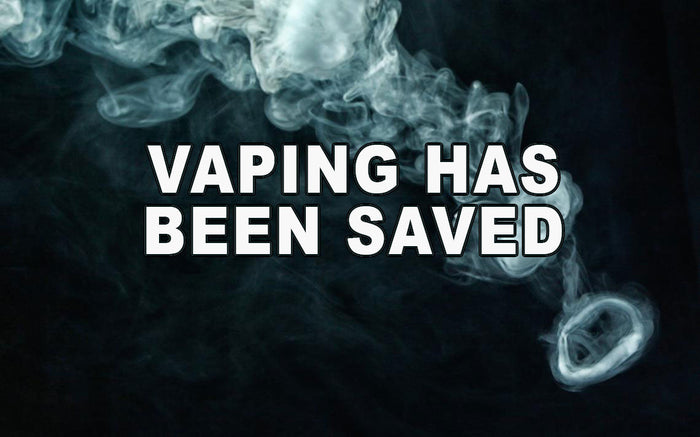 BREAKING - Vaping is saved! - Happy New Year 01/01/2020