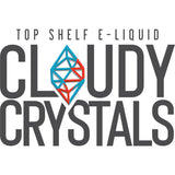 Cloudy Crystals Nicotine Salt E-Liquid Logo