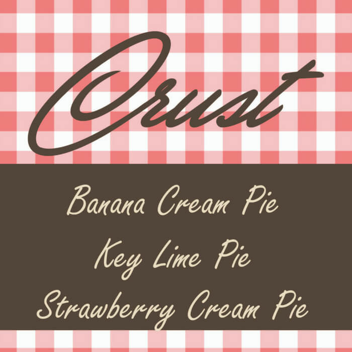 Crust Premium Pie E-Liquid