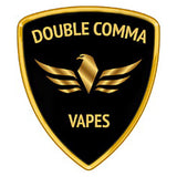 Double Comma Vapes eJuice Logo