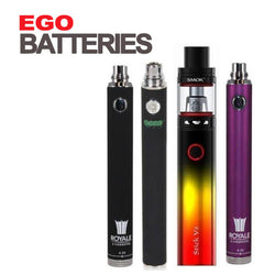 Ego Vaping Batteries Logo