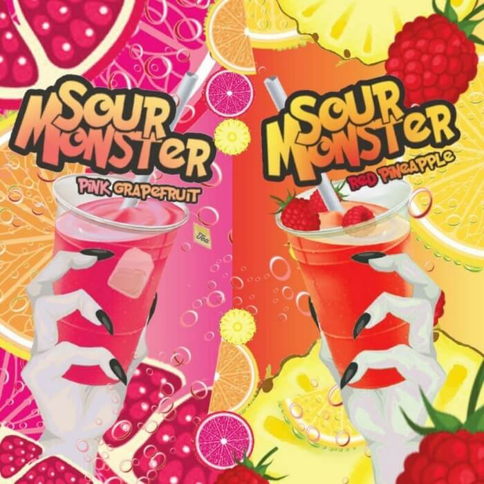 Sour Monster eJuice