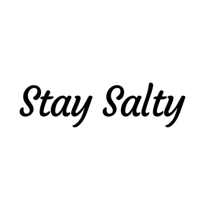 Stay Salty Nicotine Salt E-Liquid Distributor | VapeRanger Wholesale