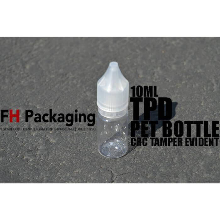 10ml GEN1 PET Bottle by FH Packaging Wholesale eLiquid | eJuice Wholesale VapeRanger
