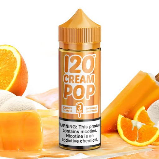 120 Cream Pop eJuice- VapeRanger Wholesale eLiquid/eJuice