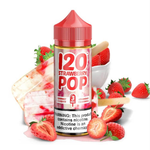 120 Strawberry Pop E-Liquid- VapeRanger Wholesale eLiquid/eJuice