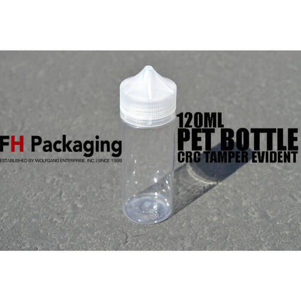 120ml GEN1 PET Bottle by FH Packaging #1