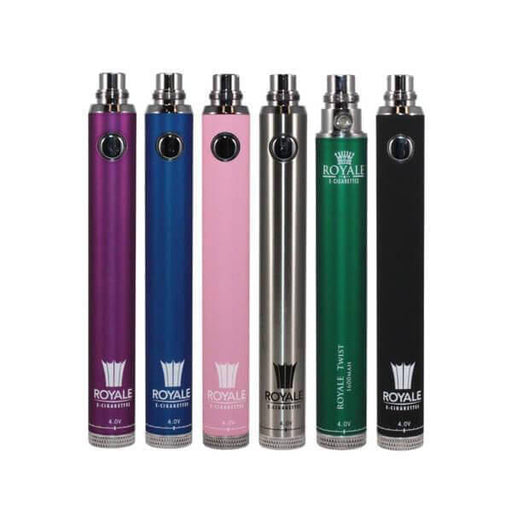 The Royale Group 1600 mAh Royale Twist Battery- VapeRanger Wholesale eLiquid/eJuice