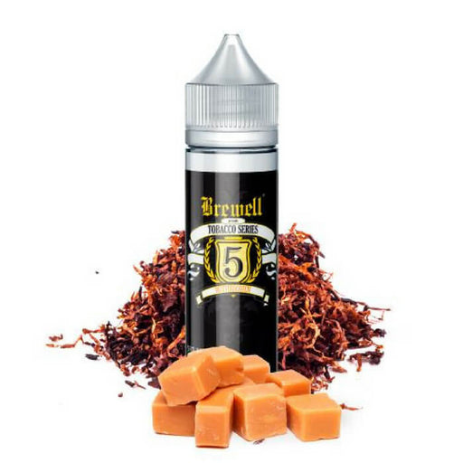 #5 (Butterscotch Tobacco) by Brewell Tobacco Series- VapeRanger Wholesale eLiquid/eJuice